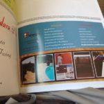 Publicidad en revistas, libro de fiestas, flyers, etc.