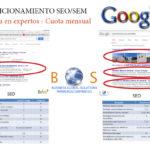 Posicionamiento en buscadores para empresas en primeras búsquedas de google