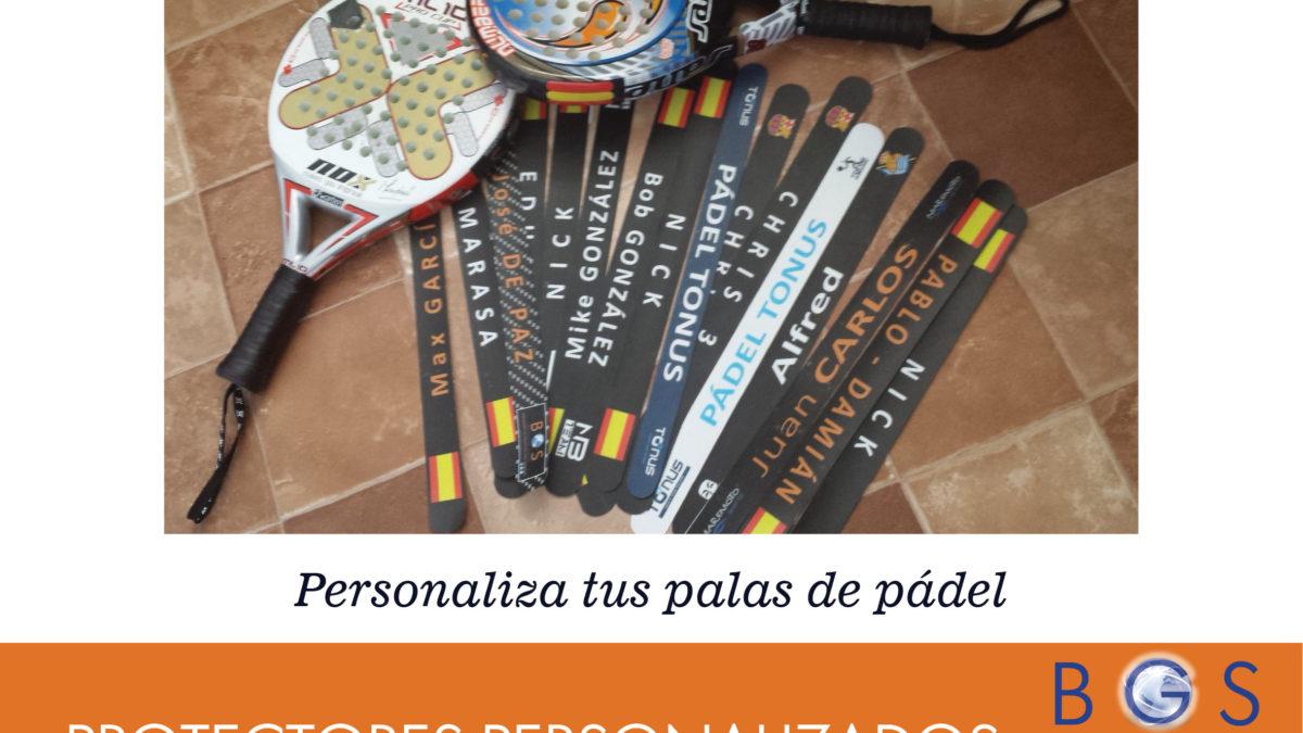 protectores personalizados palas de padel