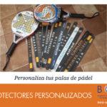 Protectores personalizados palas de pádel