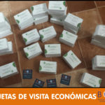 Tarjetas de visita económicas y diseño incluido