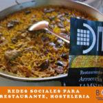 Redes sociales para restaurante, hosteleria