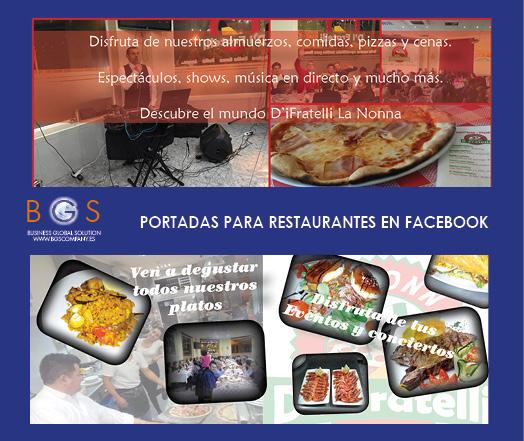 Diseño portadas facebook para empresas